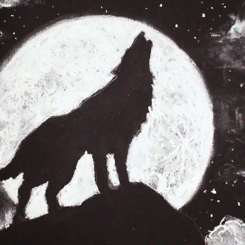 10 Best Wolf Howling At The Moon Picture FULL HD 1080p For PC Background 2020 free download how to draw a wolf howling at the moon stepstep youtube 800x800