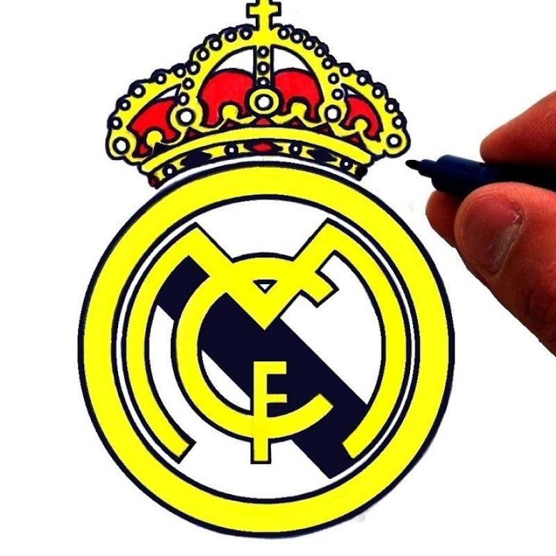 10 New Images Of Real Madrid Logo FULL HD 1080p For PC Background 2018 free download how to draw the real madrid c f logo youtube 800x800