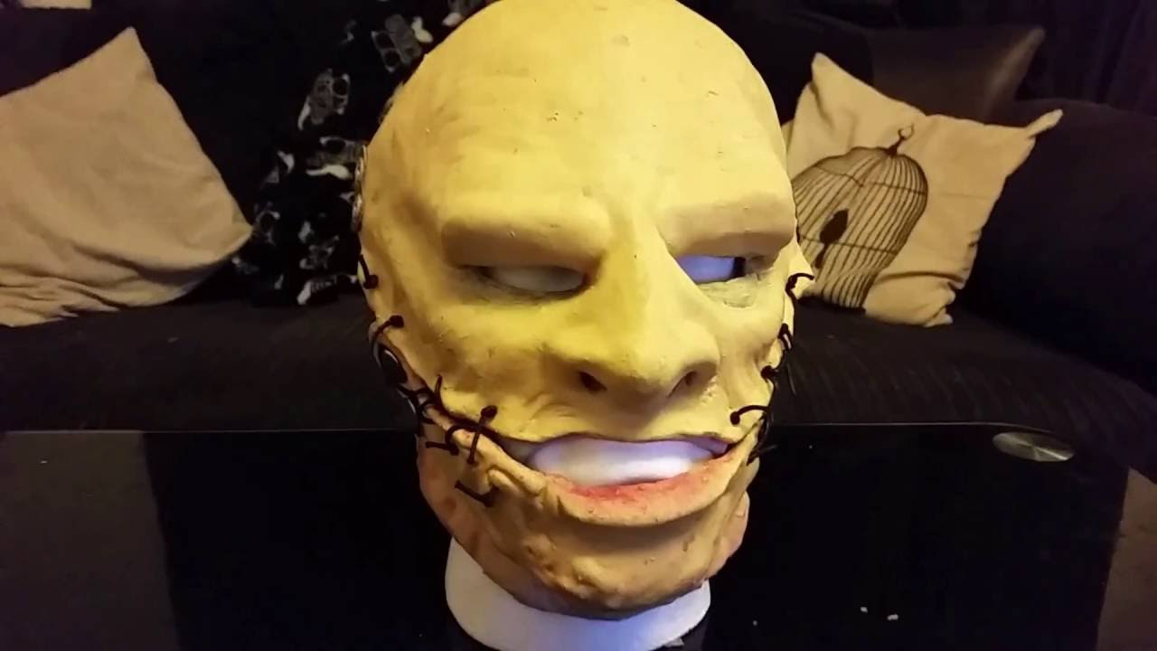 how to make slipknot corey taylor mask - youtube