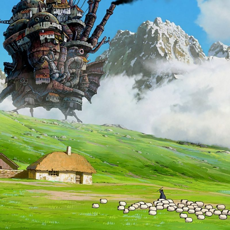 10 Latest Howl's Moving Castle Wallpaper Widescreen FULL HD 1080p For PC Background 2020 free download howls moving castle full hd wallpaper and background image 800x800