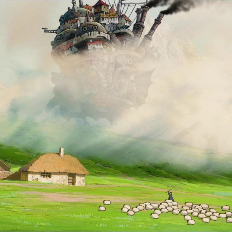 10 Latest Howl's Moving Castle Wallpaper Widescreen FULL HD 1080p For PC Background 2020 free download howls moving castle wallpaper and background image 1920x1040 id 800x800