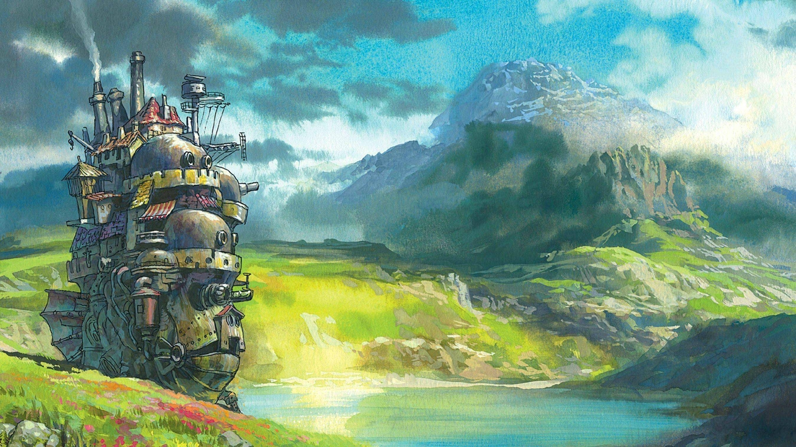 howl's moving castle wallpapers - wallpaper cave