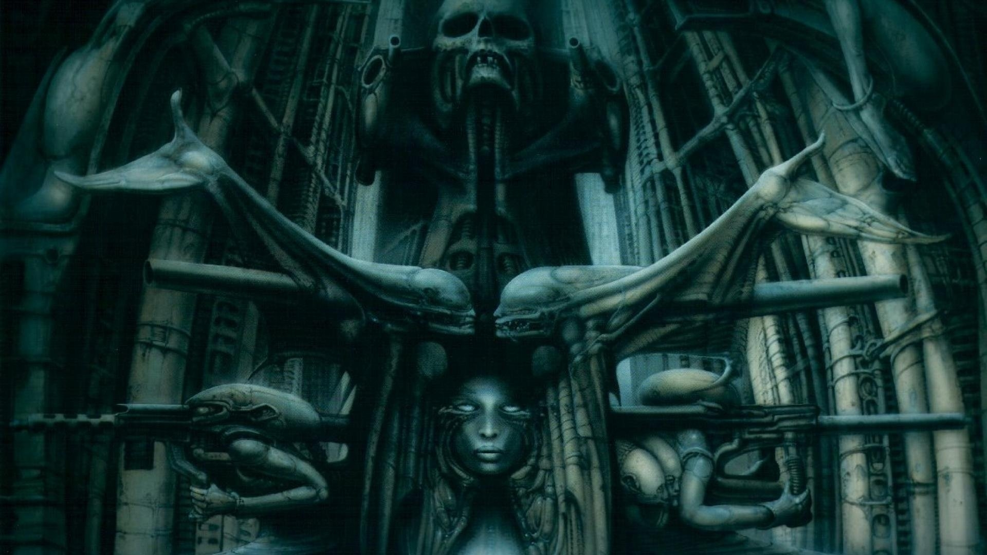 hr giger the spell - walldevil
