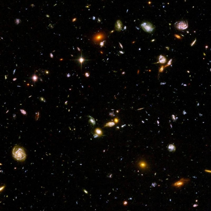 10 Top Hubble Deep Field Hd Wallpaper FULL HD 1080p For PC Background 2018 free download hubble deep field this is like 1 of the sky each one of those 800x800