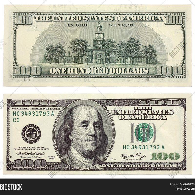 10 Best Image Of 100 Dollar Bill FULL HD 1080p For PC Background 2018 free download hundred dollar bill image photo bigstock 800x800