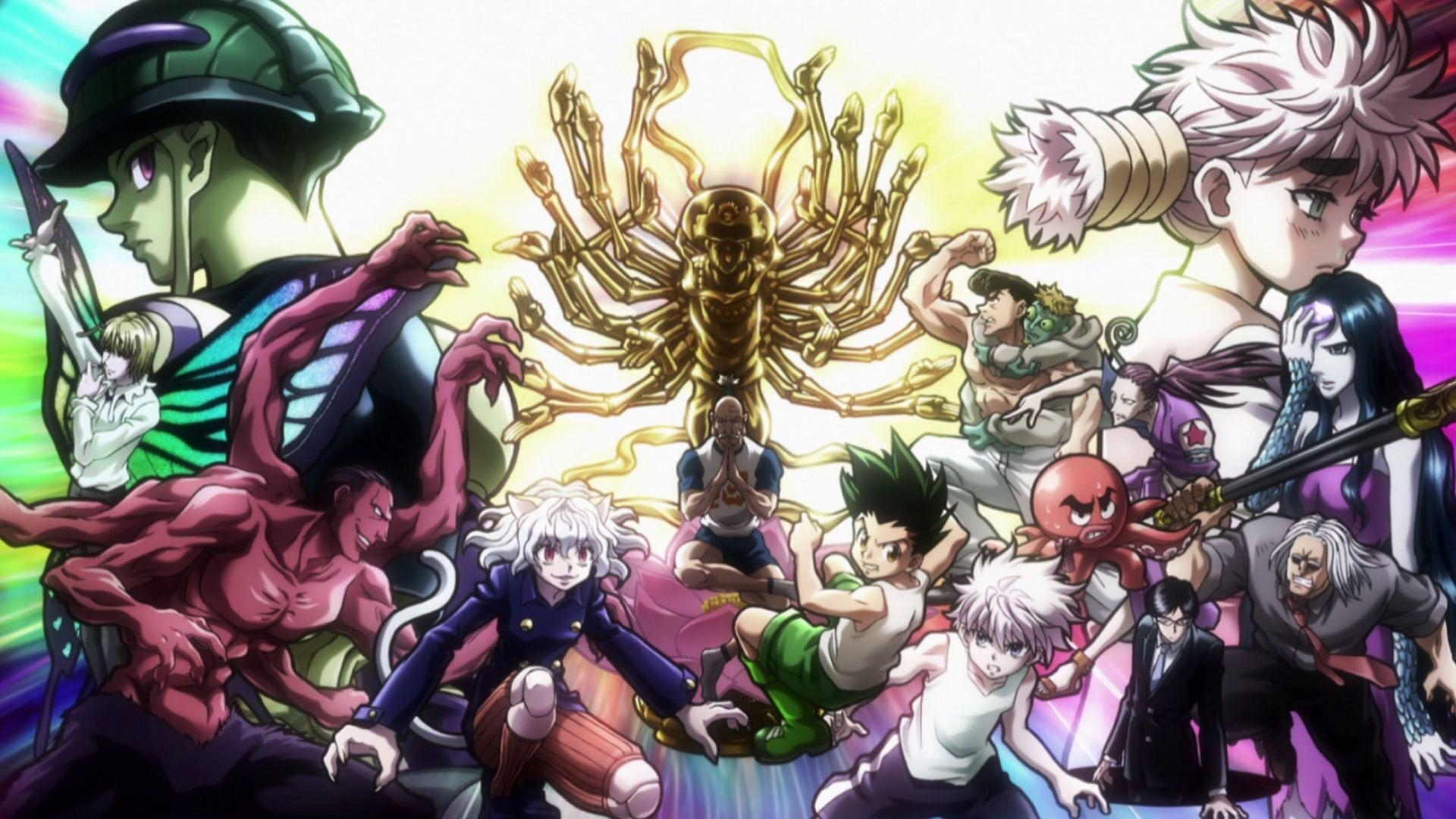 hunter x hunter wallpapers - wallpaper cave