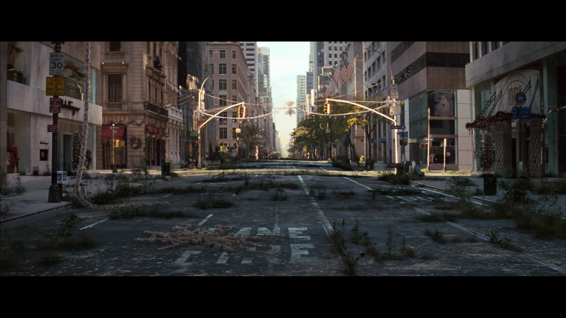 i am legend. overgrown city | fashion trends: post apocalypse
