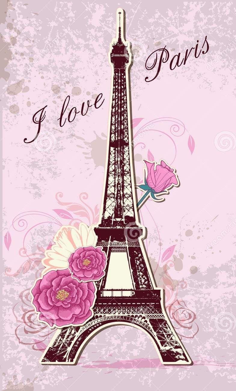 i love paris wallpaper.   wallpaper   pinterest   paris wallpaper