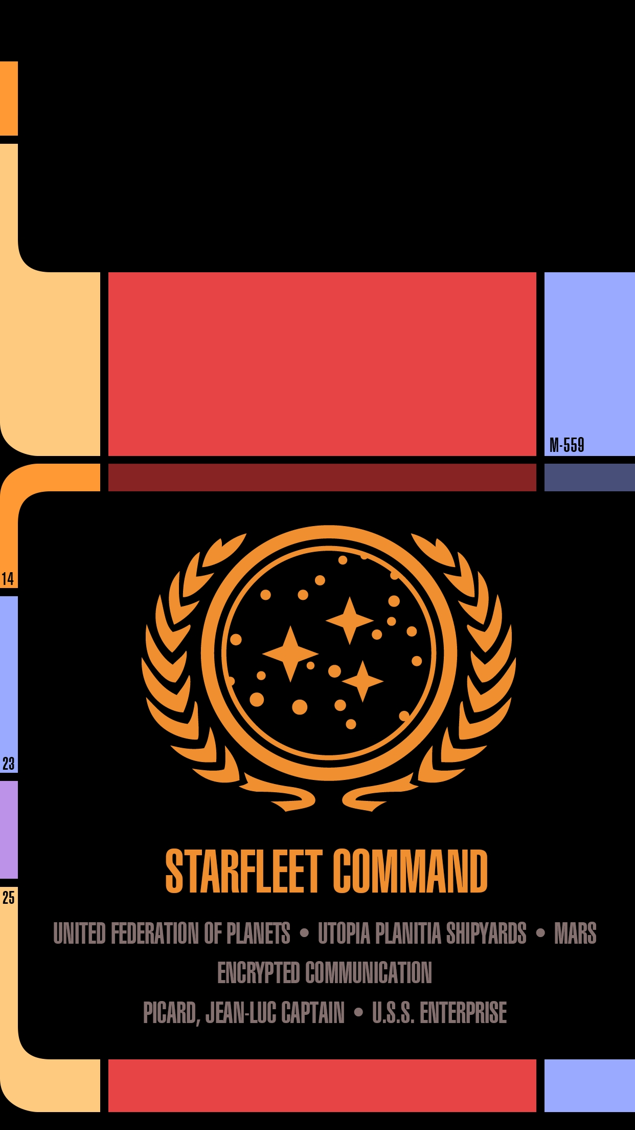 i made a star trek lcars wallpaper for android phones - imgur