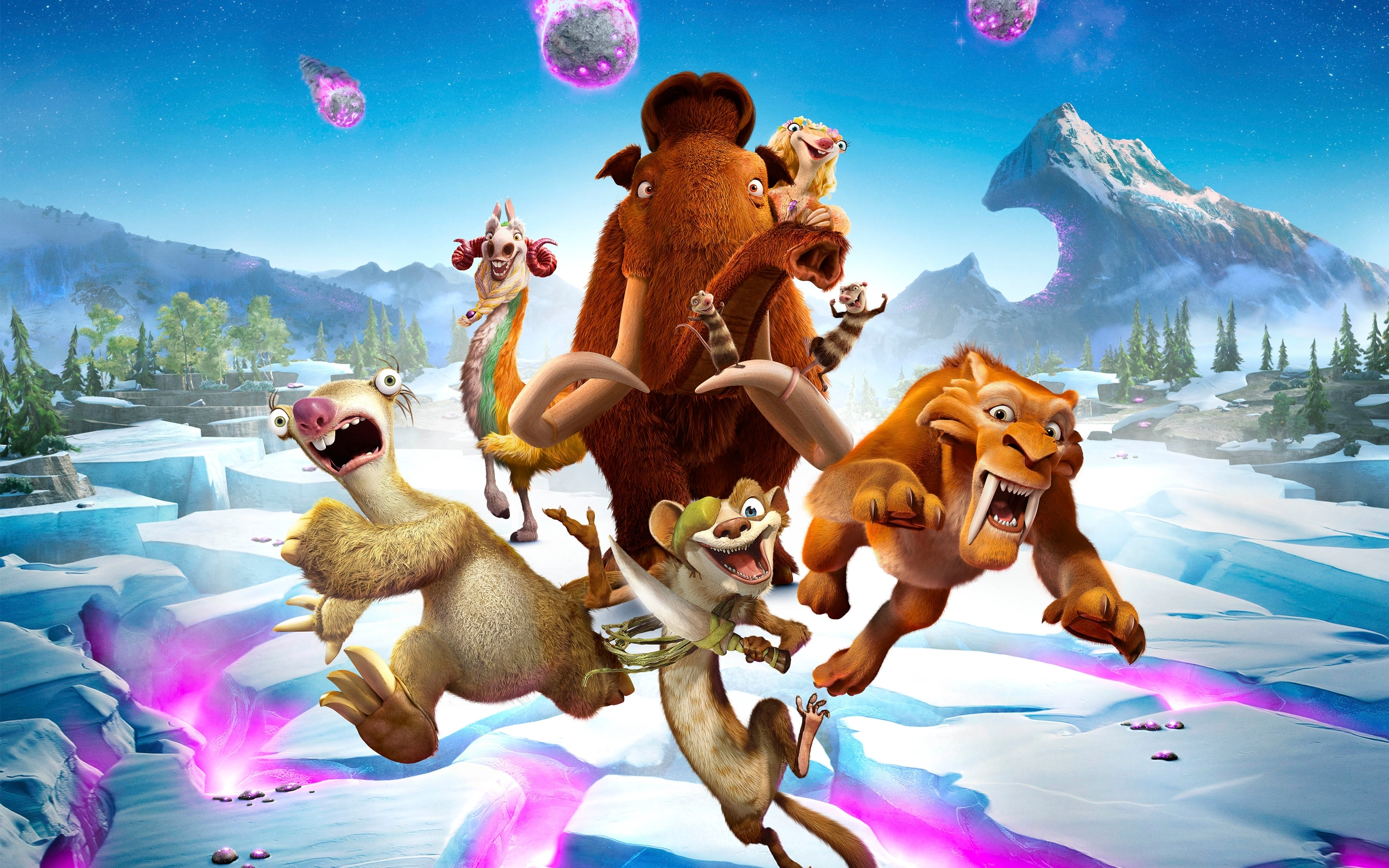 ice age collision course 2016 movie wallpapers | hd wallpapers | id