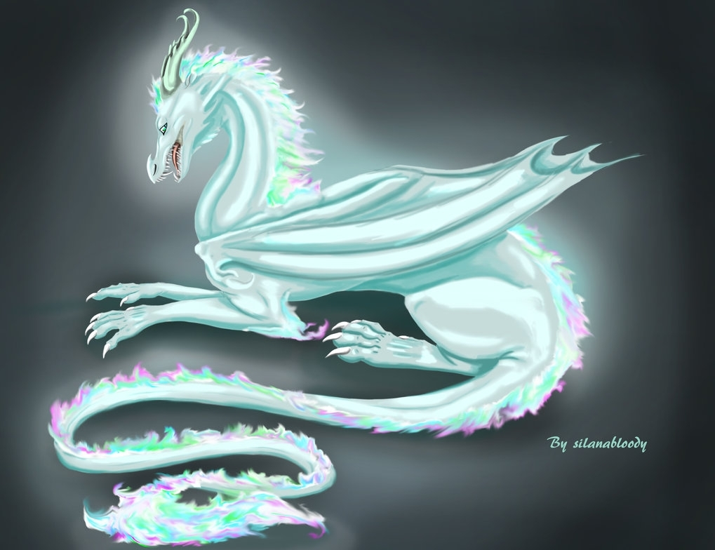 ice dragonsilanaverley on deviantart