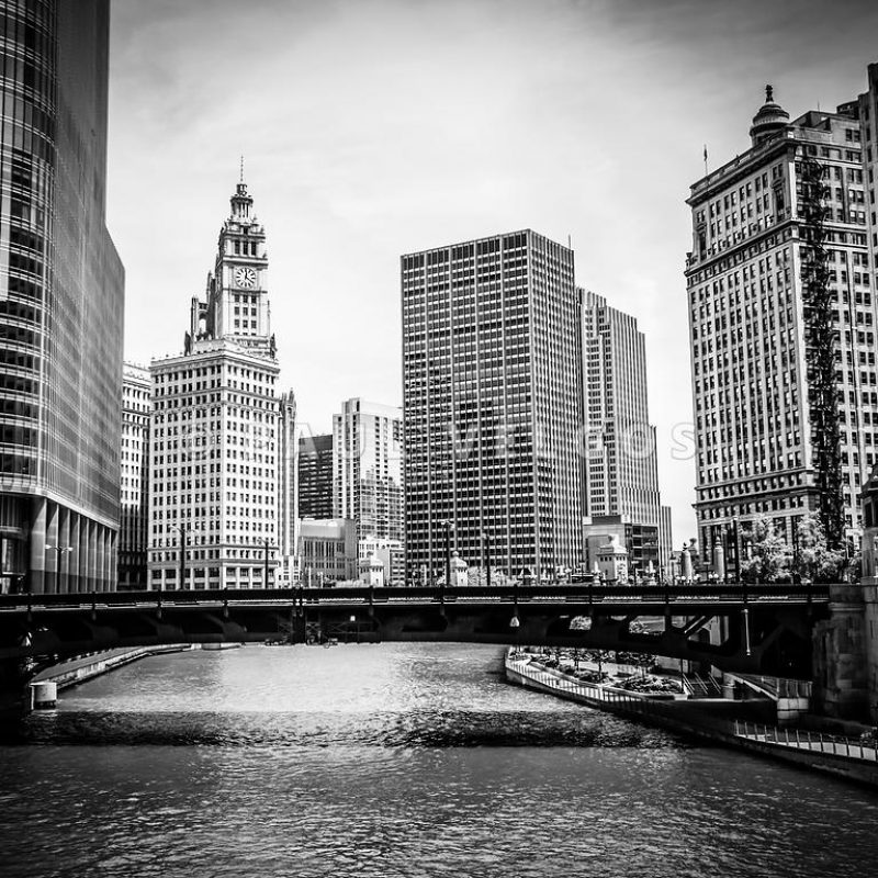 10 Top Black And White Chicago Skyline Wallpaper FULL HD 1080p For PC Background 2020 free download image chicago river skyline in black and white large canvas print 800x800