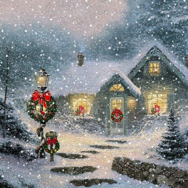 10 Best Free Thomas Kinkade Christmas Screensavers FULL HD 1920×1080 For PC Background 2020 free download image detail for thomas kinkade christmas wallpapers free thomas 800x800