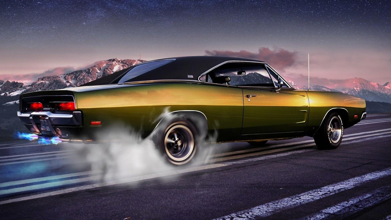 10 Latest Old Muscle Car Wallpapers Full Hd 1080p For Pc Desktop