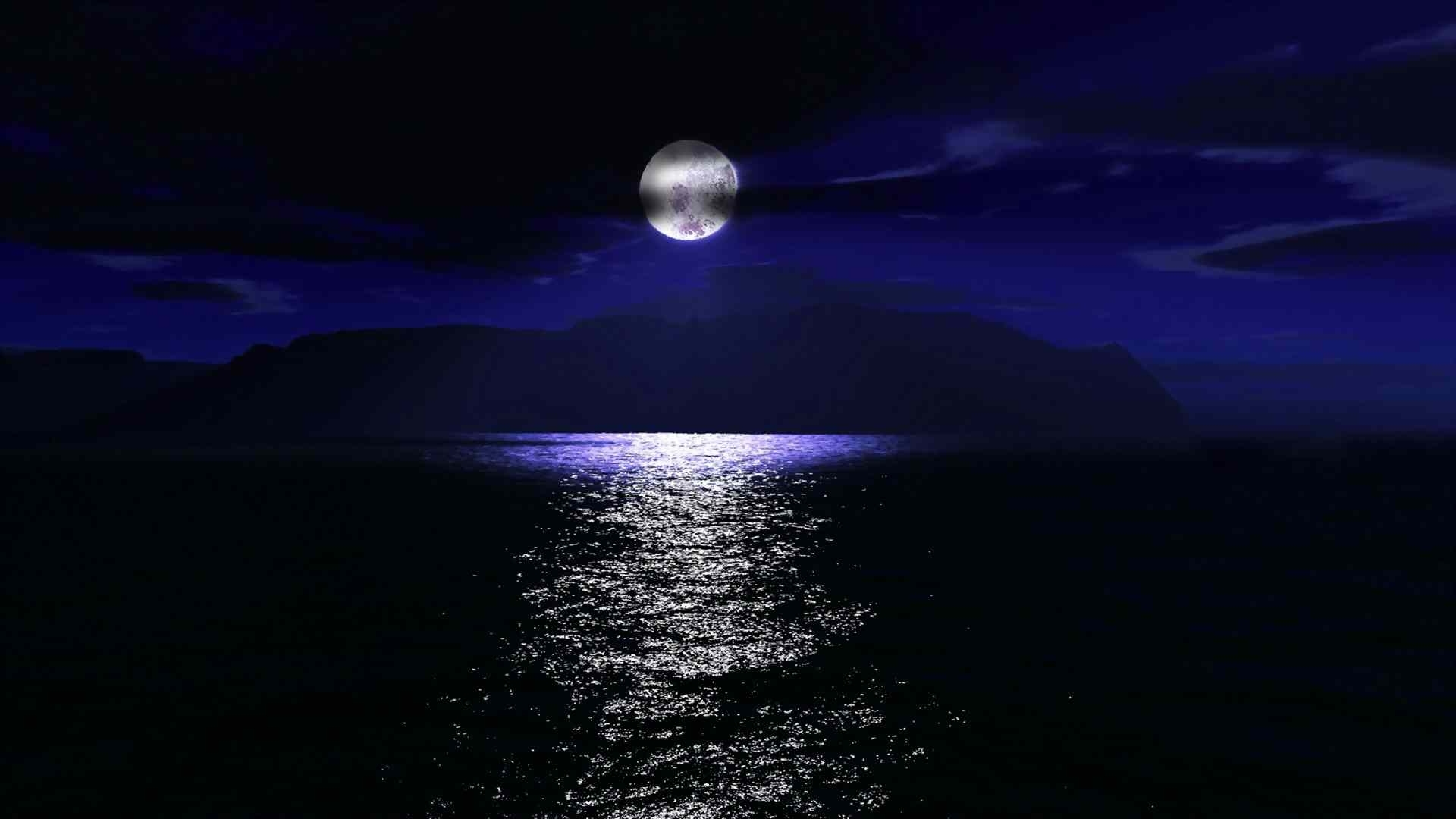 images of the moon at night wallpaper
