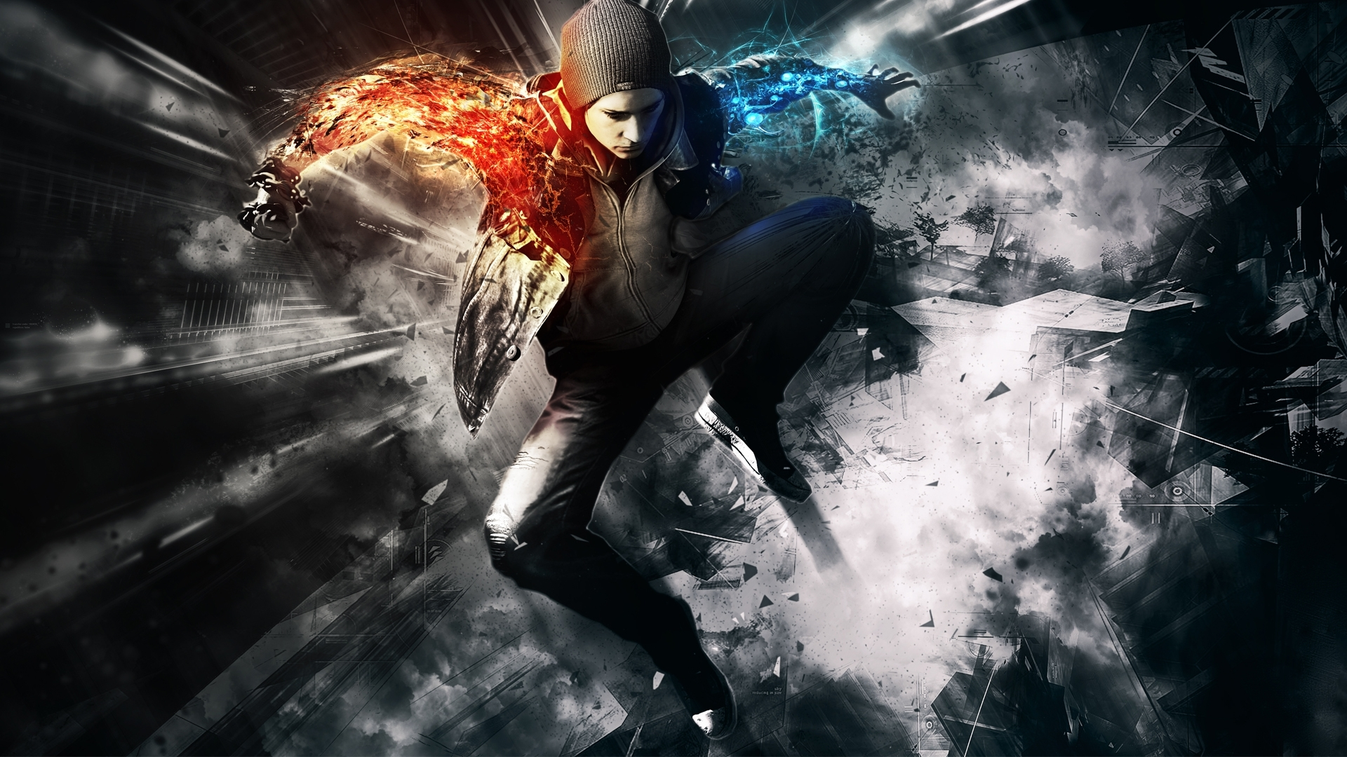 infamous second son wallpapers | best wallpapers