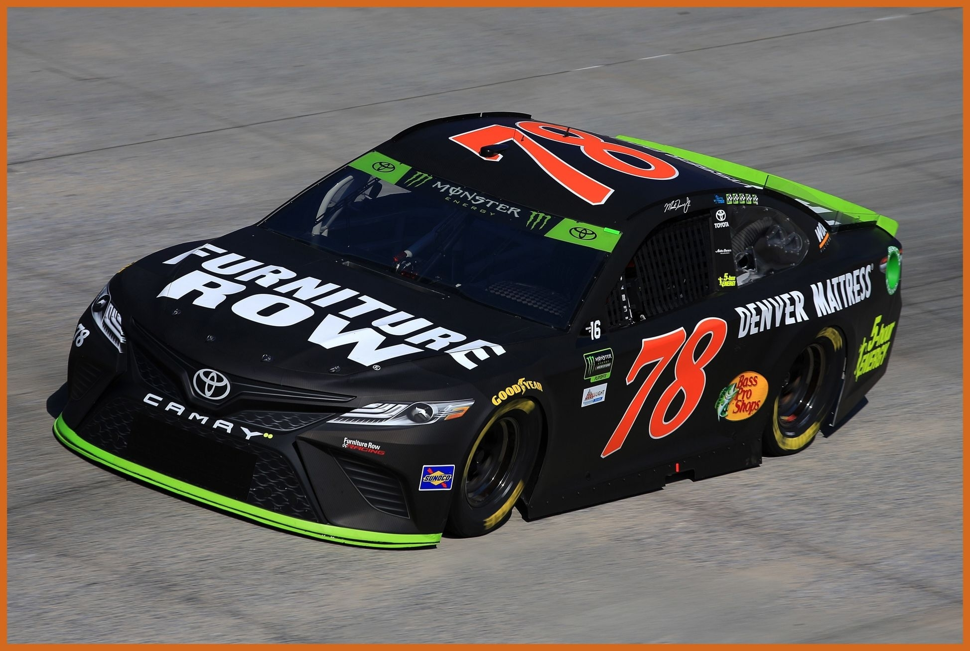 inspiring martin truex jr wins the pole for sunday u apache warrior