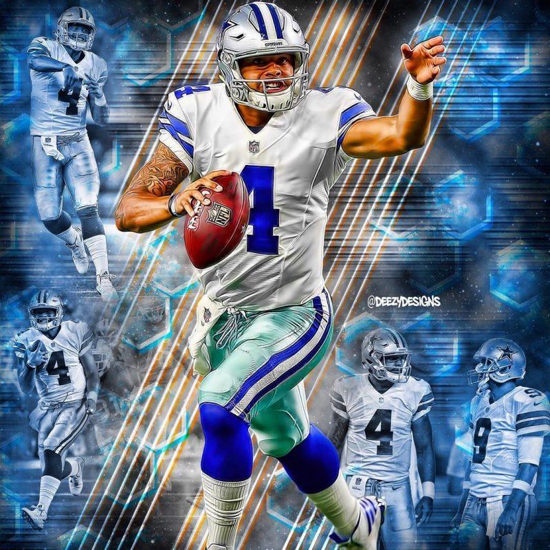 10 Latest Dallas Cowboys Dak Prescott Wallpaper FULL HD 1920×1080 For PC Background 2020 free download instagram sports pinterest cowboys 800x800