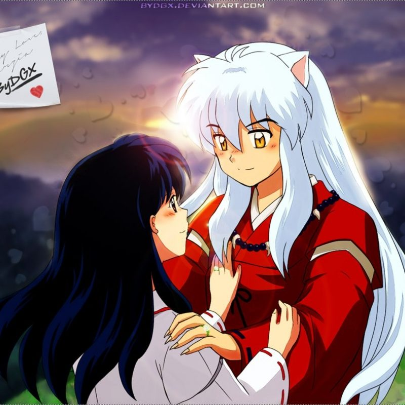 10 New Inuyasha And Kagome Wallpaper Full Hd 1080p For Pc Desktop