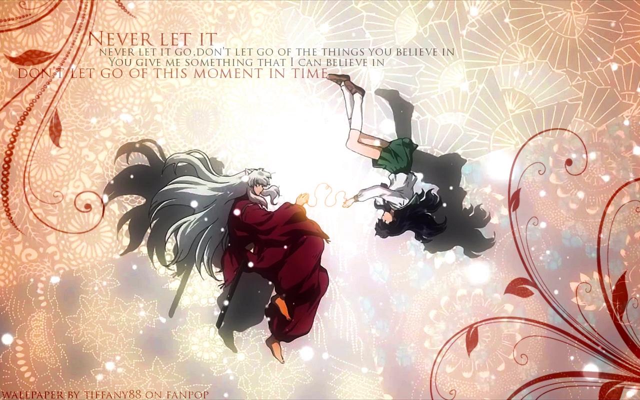 inuyasha.:the final act:. images inuyasha and kagome hd wallpaper