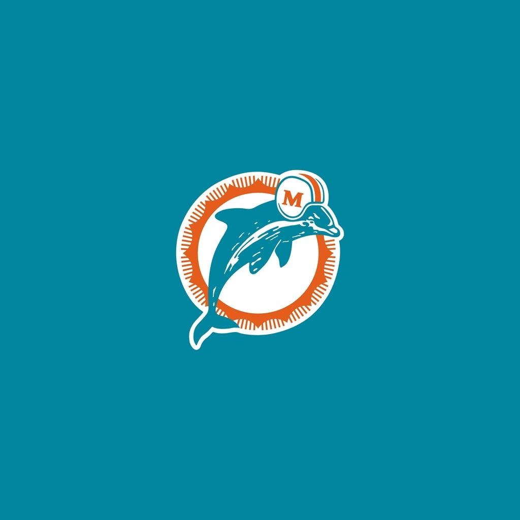 ipad wallpapers with the miami dolphins team logos – digital citizen