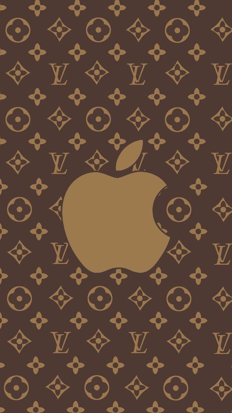 iphone 7 wallpapers louis vuitton brown