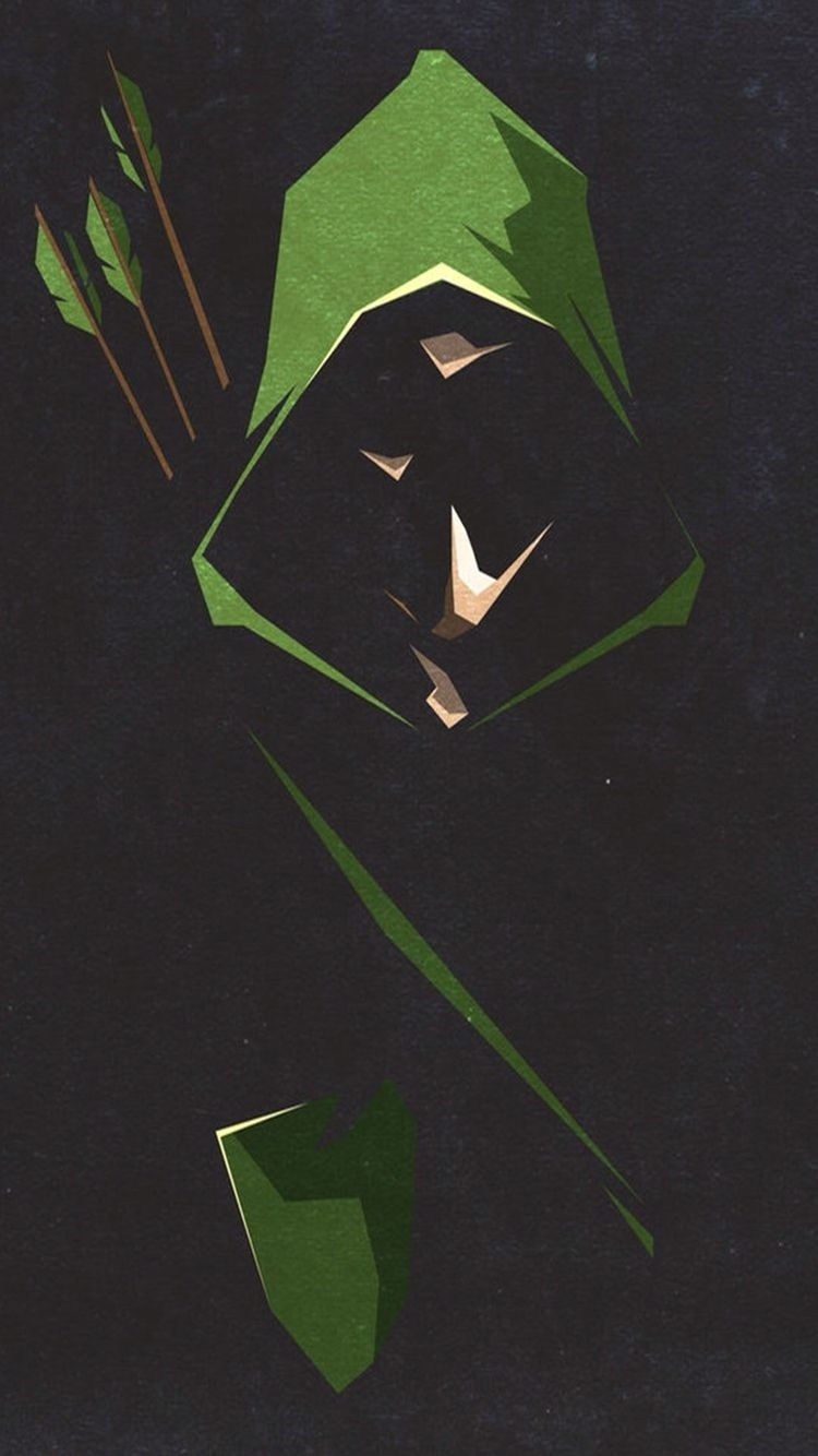 iphone green arrow wallpaper | wallpapers | pinterest | héros, Écran
