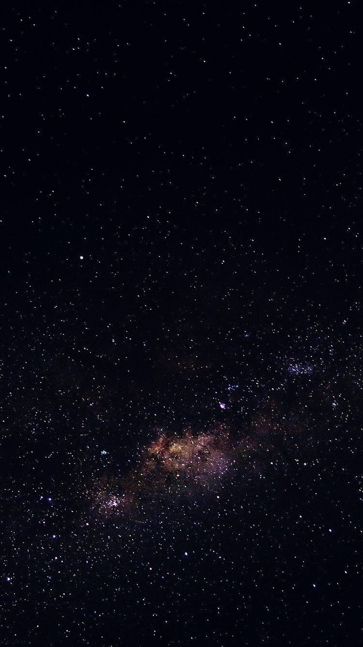 iphone, stars, galaxy, space, black - wallpaper | stickers