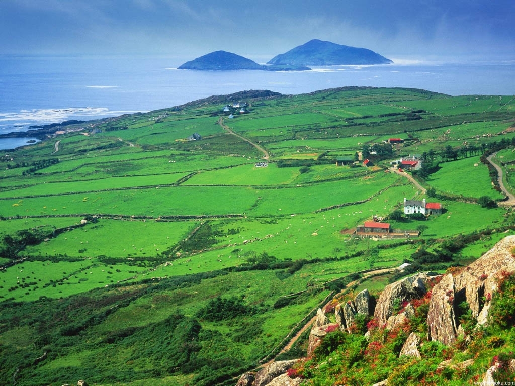 ireland scenery | free picture > travel irish scenery - irish tour