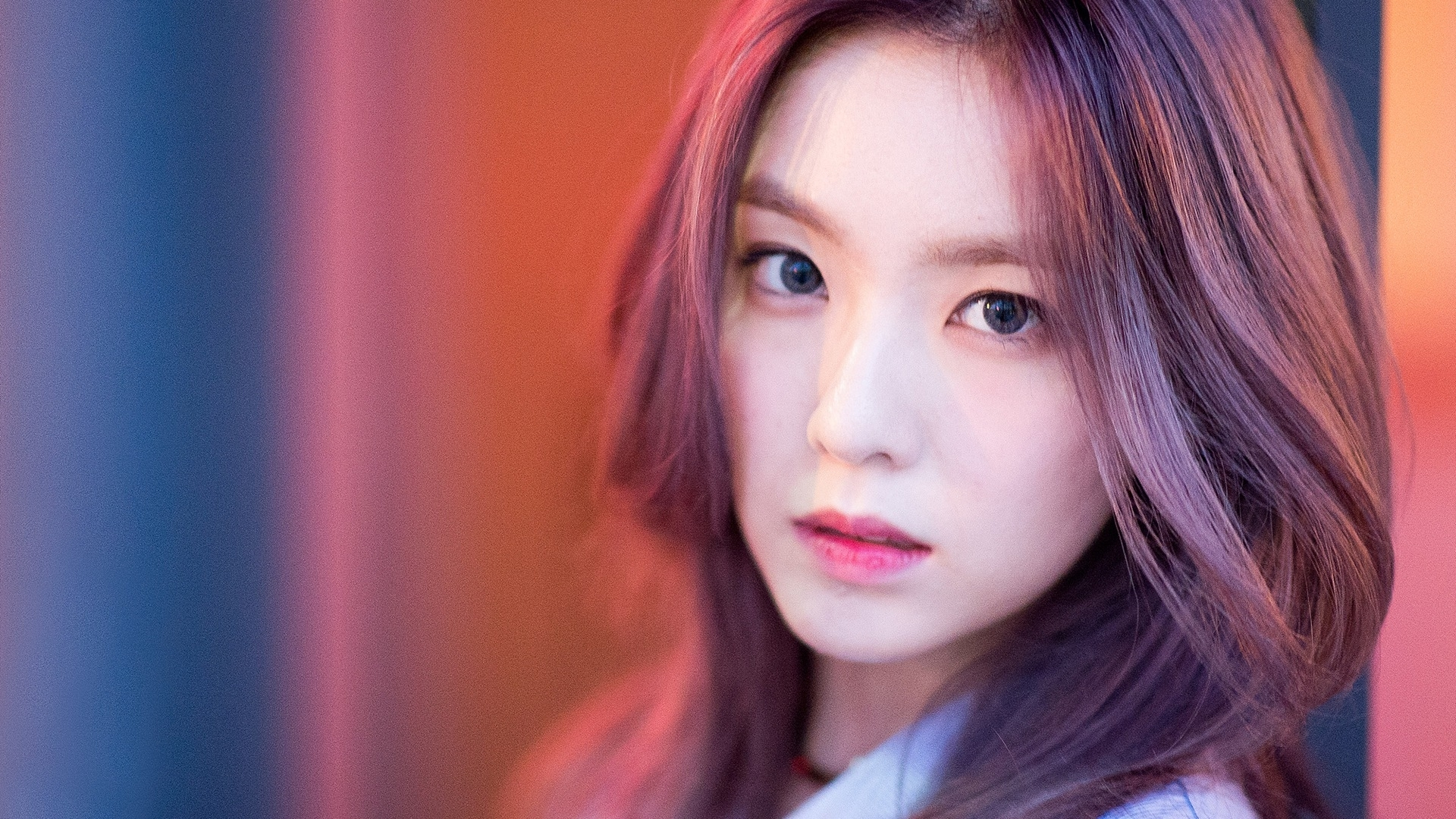 irene red velvet purple hair beautif wallpaper #15273