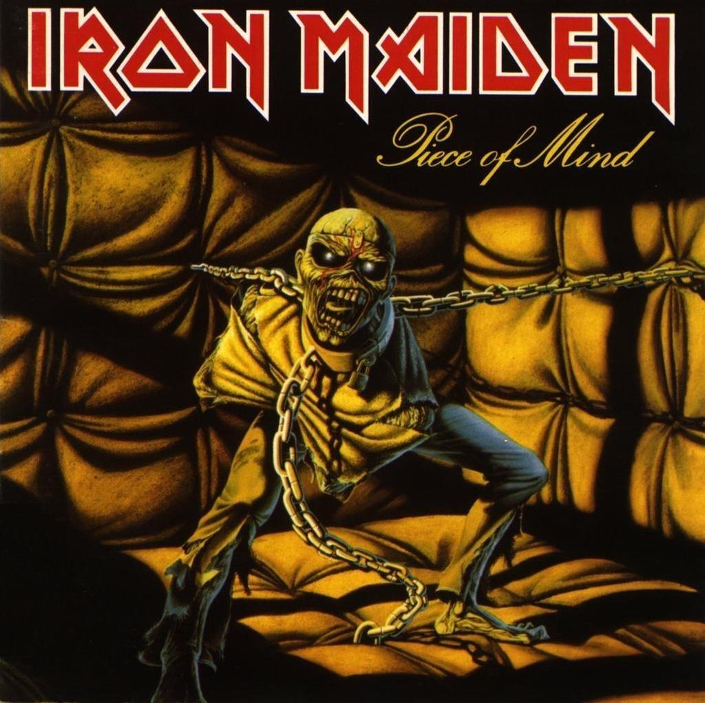iron maiden eddie - piece of mind halloween mask