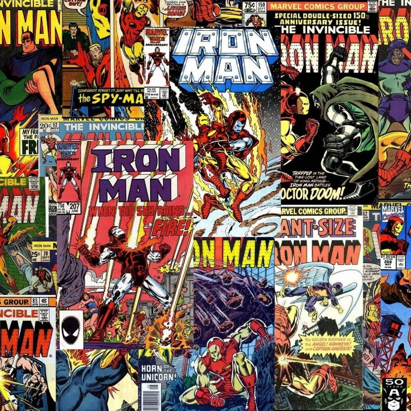 10 Top Comic Book Cover Wallpaper FULL HD 1080p For PC Desktop 2018 free download iron man covers dc x marvel pinterest marvel marvel universe 800x800