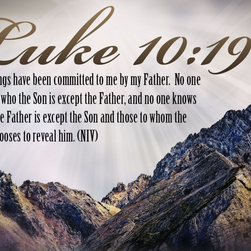 10 Best Christian Wallpapers With Bible Verses In English FULL HD 1920×1080 For PC Background 2021 free download it is written bible verse luke 1019 desktop bible verse wallpaper 800x800