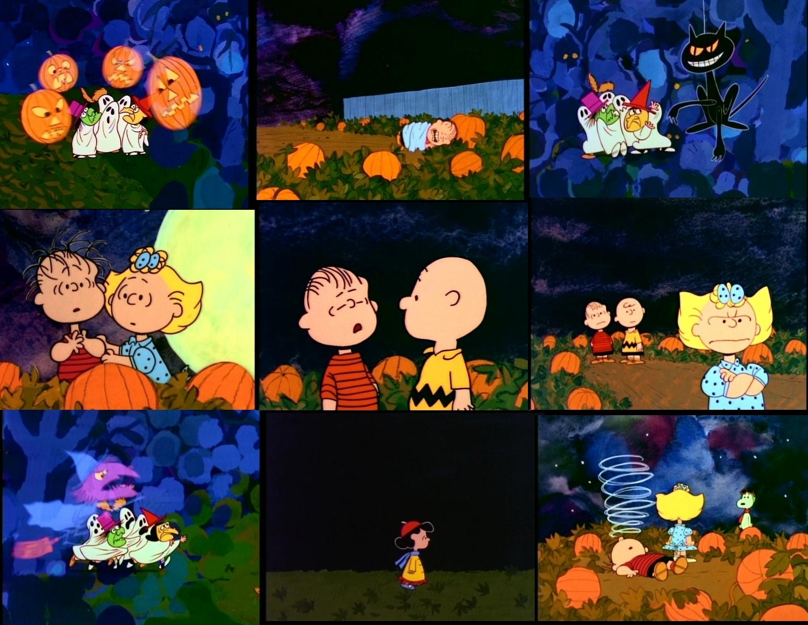 it's the great pumpkin, charlie brown! wallpaper and background