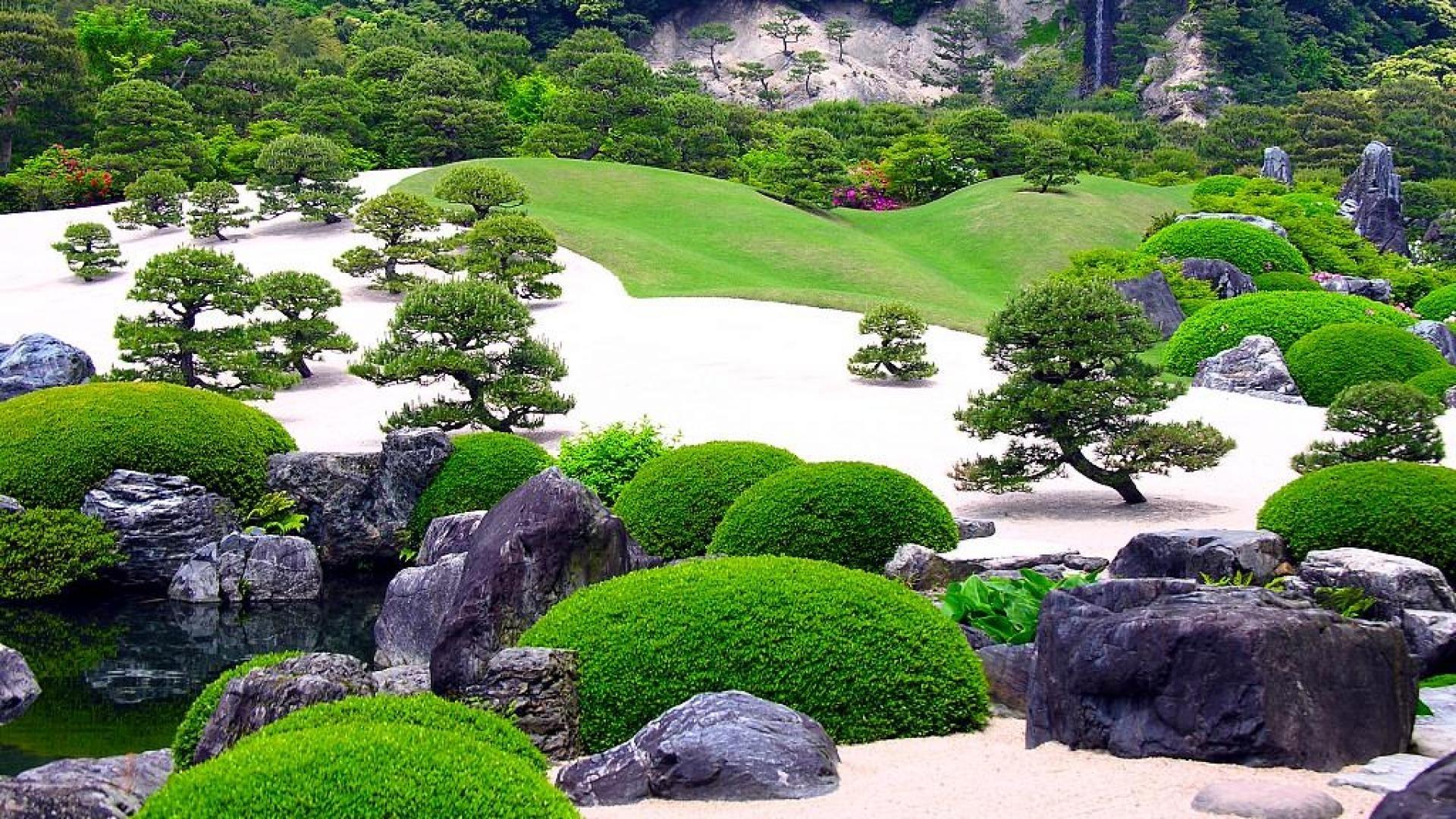 jardin zen fond d'écran hd
