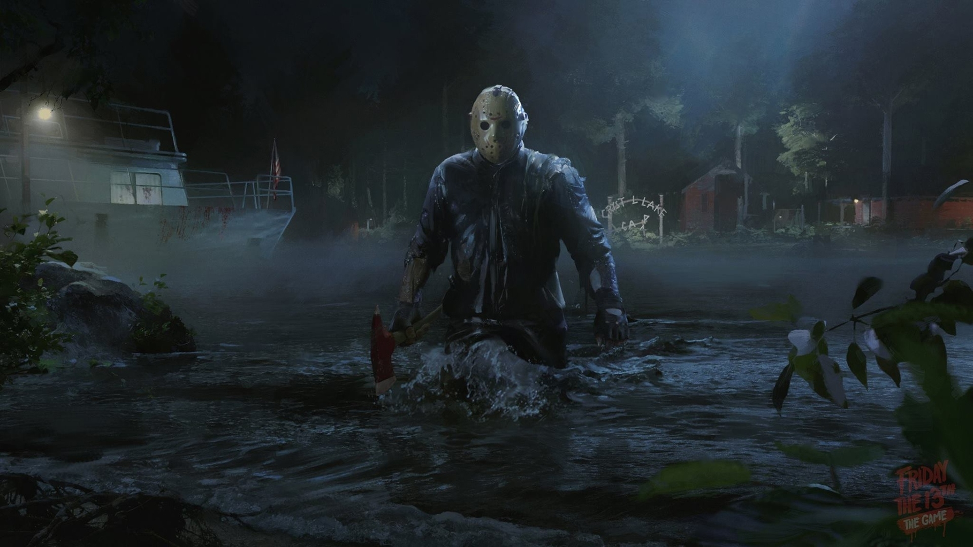 jason voorhees friday the 13th game wallpaper #44735