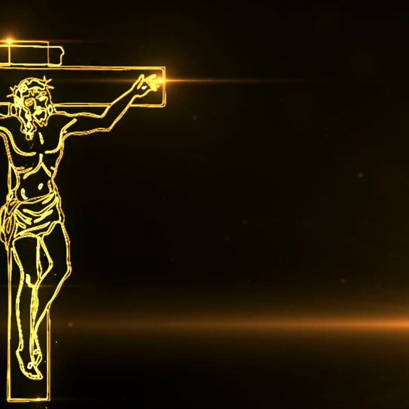 10 Best Images Of Jesus Christ On The Cross FULL HD 1080p For PC Desktop 2018 free download jesus christ on cross being drawn with lights motion background 800x800