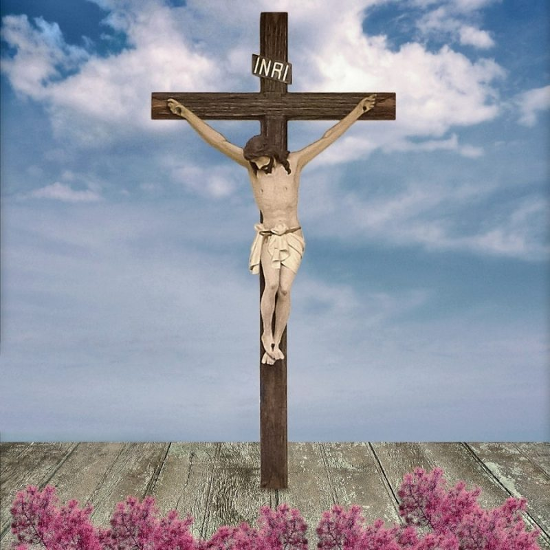 10 New Pictures Of Jesus On The Cross FULL HD 1080p For PC Background 2021 free download jesus on the cross illustration daniel ferreia leites ciccarino canvas 800x800