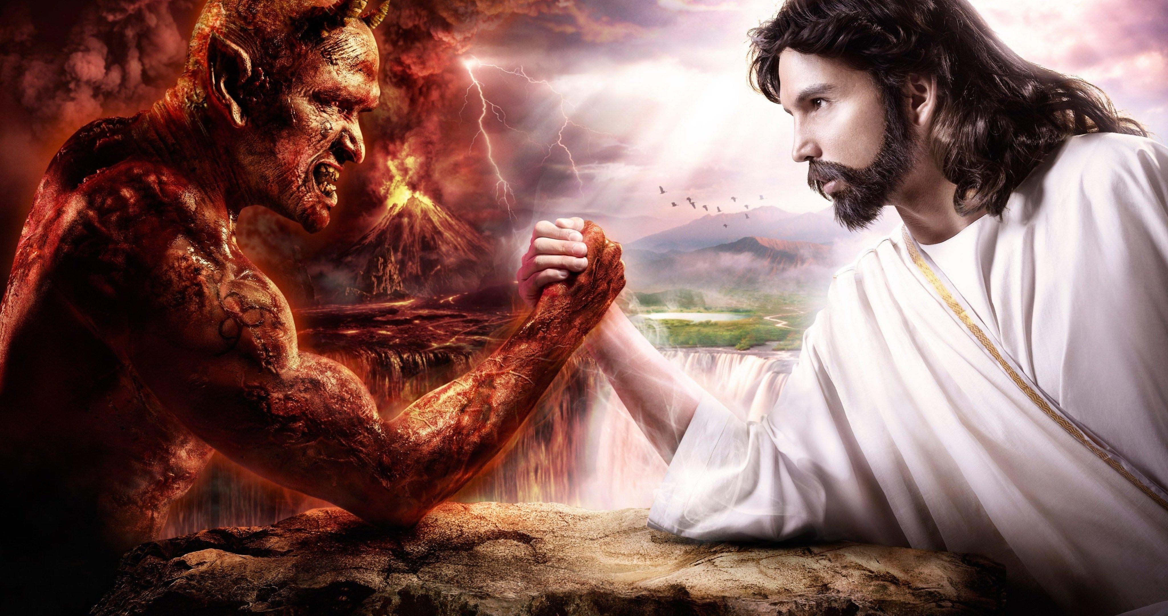 jesus vs devil 4k ultra hd wallpaper | sharovarka | pinterest | hd