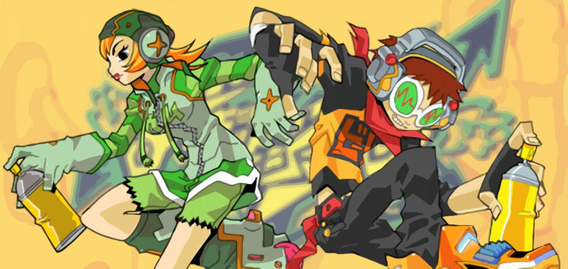 10 Most Popular Jet Set Radio Wallpaper FULL HD 1080p For PC Background 2018 free download jet set radio action platform sports grind sega anime game 10 800x379