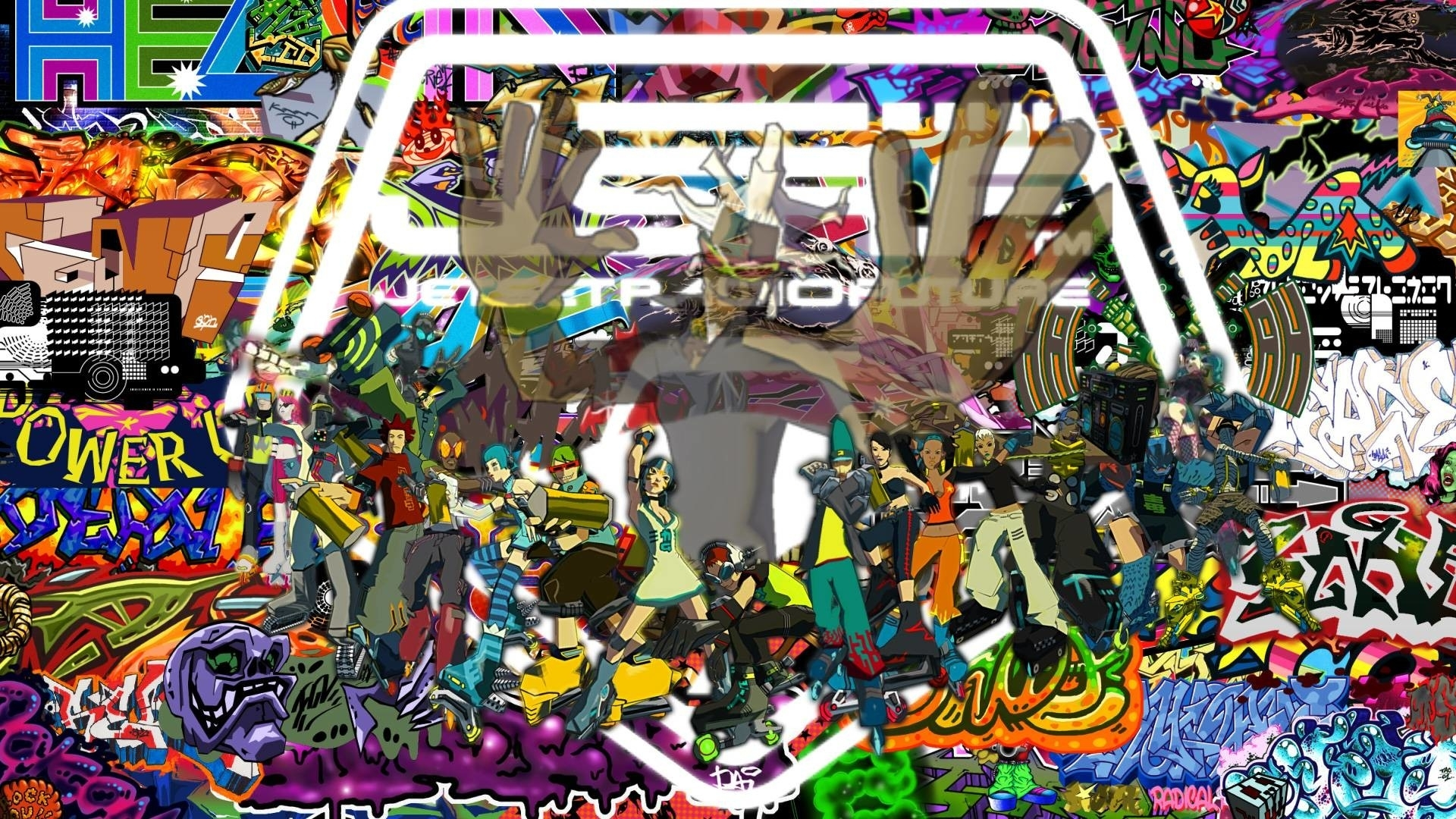 jet set radio future wallpaper (65+ images)