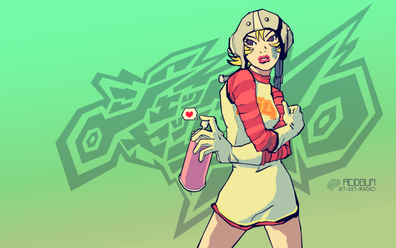10 Most Popular Jet Set Radio Wallpaper FULL HD 1080p For PC Background 2018 free download jet set radio gum hd wallpaper hintergrund 1920x1200 id645346 800x500
