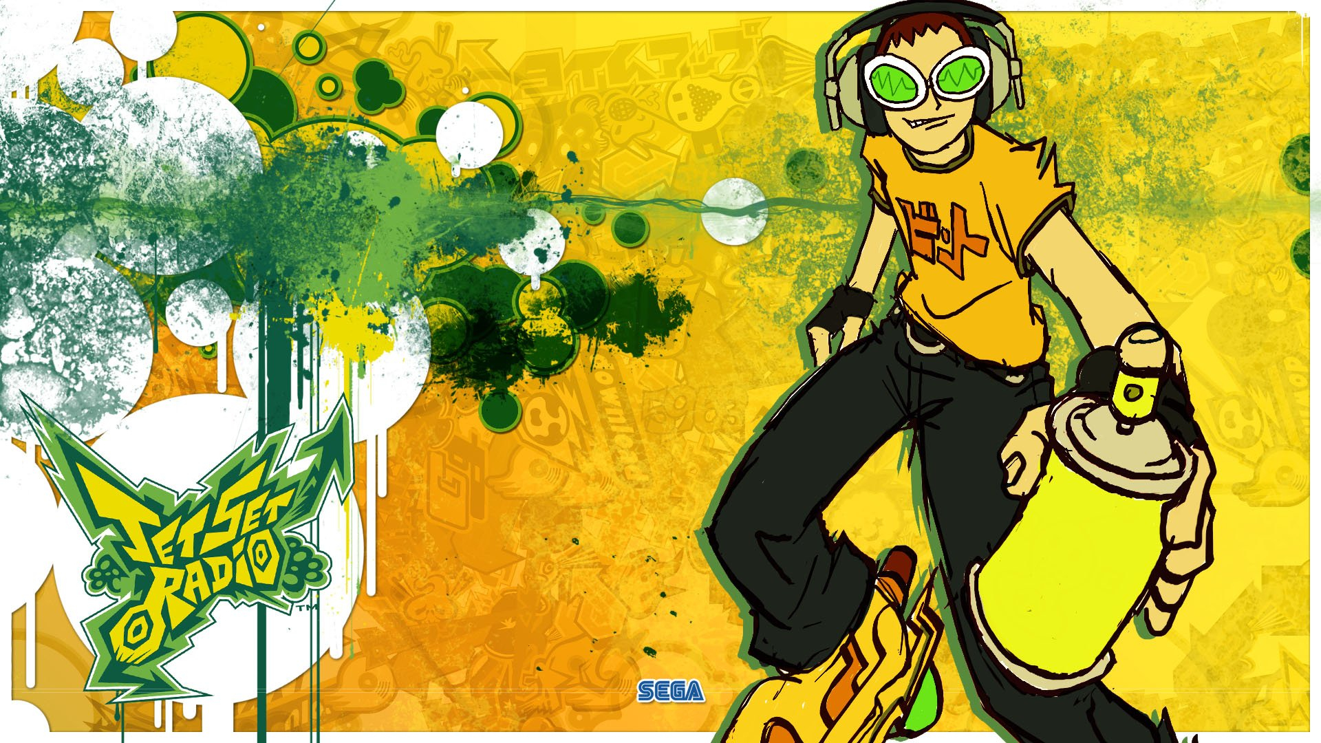 jet set radio hd wallpaper | hintergrund | 1920x1080 | id:492168