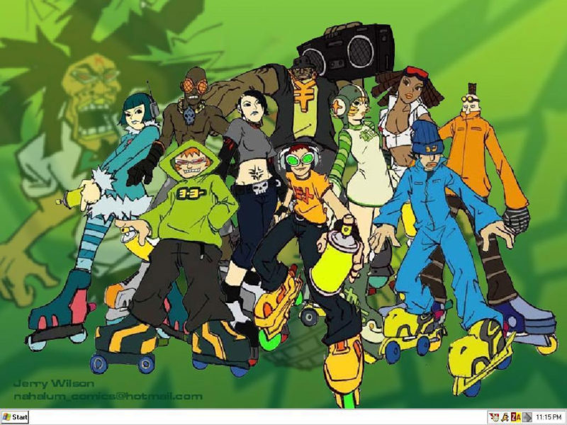 10 Most Popular Jet Set Radio Wallpaper FULL HD 1080p For PC Background 2018 free download jet set radio wallpapers wallpaper cave 2 800x600