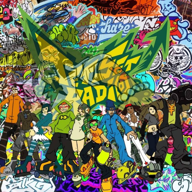 10 Top Jet Set Radio Future Wallpaper FULL HD 1080p For PC Background 2018 free download jet set radio wallpapers wallpaper cave 800x800