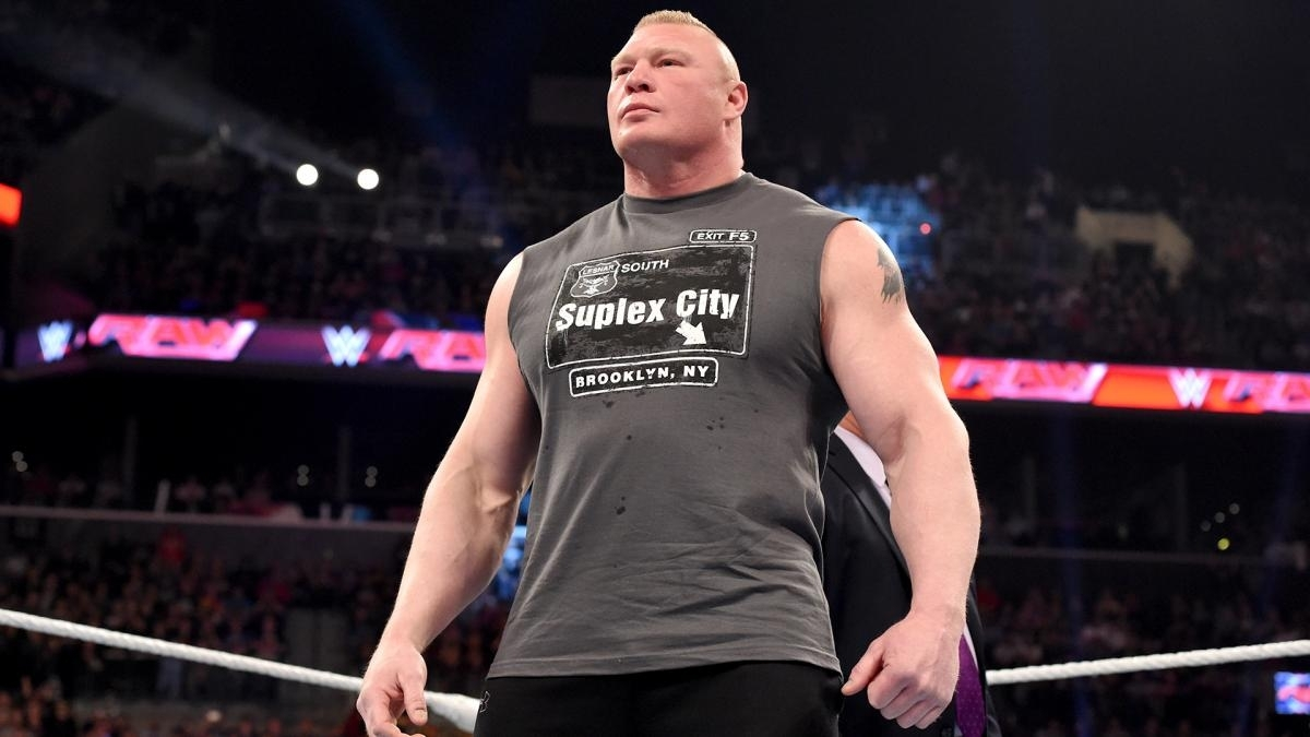 john cena vs. brock lesnar - wwe world heavyweight title match