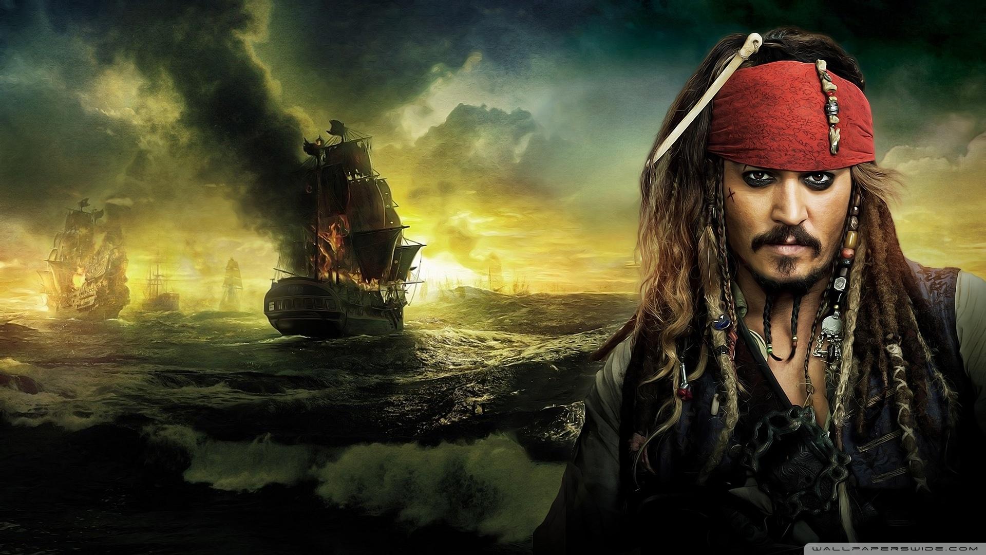 johnny depp, pirates of the caribbean on stranger tides 2011 ❤ 4k