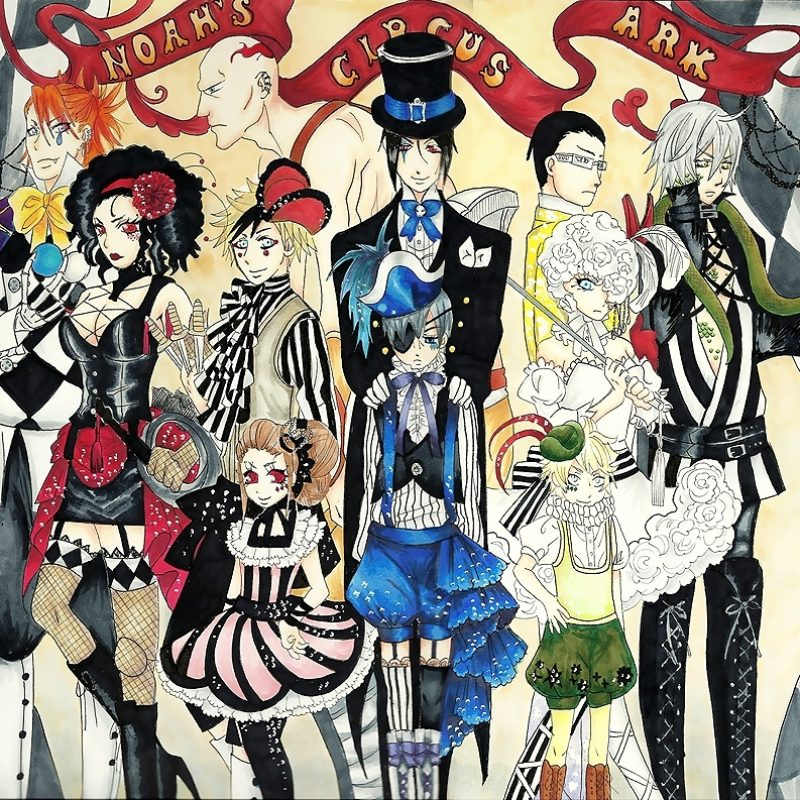 10 Most Popular Black Butler Book Of Circus Wallpaper FULL HD 1080p For PC Background 2018 free download joker fanclub images full circus hd wallpaper and background photos 800x800