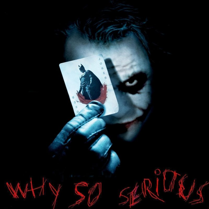 10 Top Why So Serious Pic FULL HD 1920×1080 For PC Desktop 2021 free download joker why so serious wallpapers wallpaper cave 4 800x800
