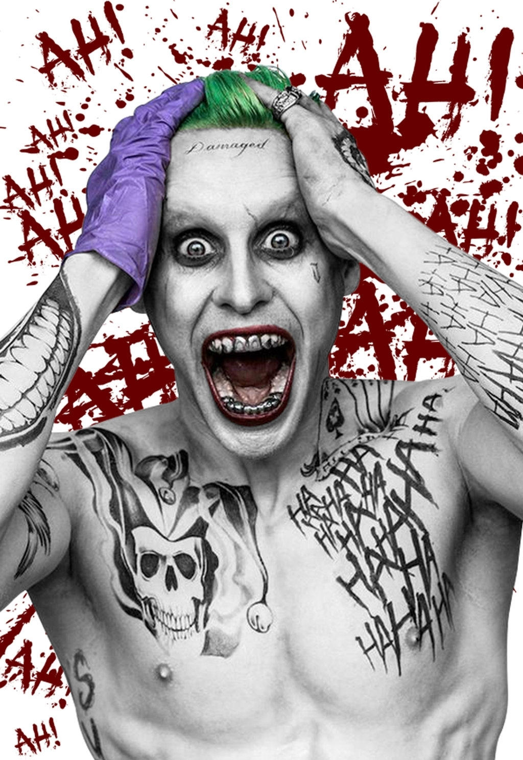 joker wig - suicide squad for halloween 2015 http://www.amazon